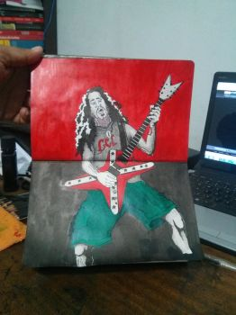 Zombie Darrel Dimmebag by comicetdesign