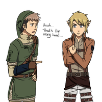 Attack on Zelda/The Legend of Titan by Silent-Shanin