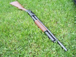 Winchester M1897 by M1Abrams