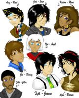 Avatar Cast Of Rent by SetoAngel01