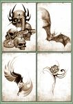 Tattoo comissions. by dreamarian