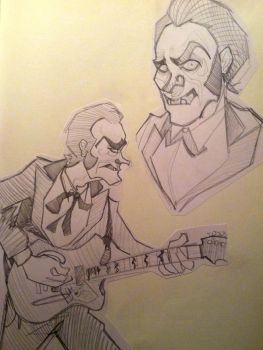 Unknown Hinson Sketches I by SaraHowardWorks