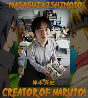 Creator Of Naruto by zFlashyStyle