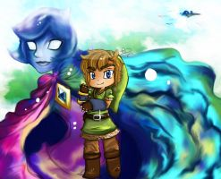 Zelda Skyward Sword by October-Shadows