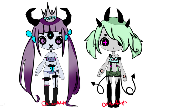 Demon Bby Adopts (Demon Batch #12 CLOSED) by OniichanAdopts