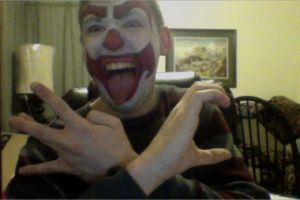 My new facepaint design by monkeythe13th