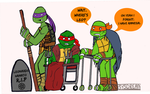 Senior Mutant Ninja Turtles by FantasysDream