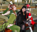 Gotham Sirens at MegaCon 1 by ChamomileCatastrophe