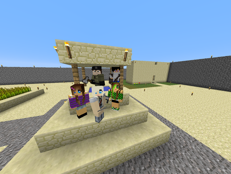 Group Photo Shot #1 by minecraft2001