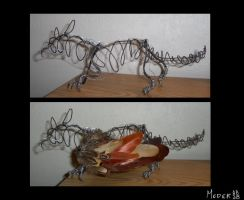 Wire Gryphon Inprog by KM-cowgirl