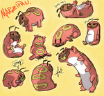 some Marzipan sketches by thrill-house