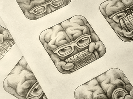Cryptex App Icon Sketches by Ramotion