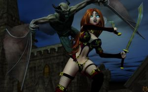 NOSFERATU SLAYER by lordcoyote