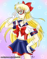 + Sailor V + by amethyst-rose