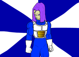 DBZ Trunks Vector Tracing by AlexFili