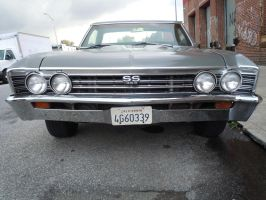 1967 Chevrolet El Camino SS 396 by Brooklyn47