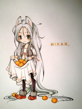 MIKAN * wolf child by kimid0ri