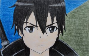 Kirito - Sword Art Online by itweetie