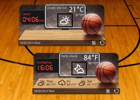 Dunk Style HD for xwidget by jimking