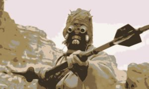 Star Wars Tuscan Raider Paint By Number Art Kit by numberedart