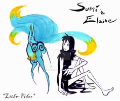 Sumi and Elaine by Lithe-Fider