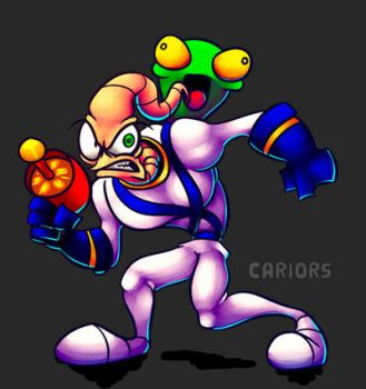 Earthworm Jim by Cariors01