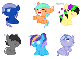 Mlp Adopts(Closed) by nightfallandicestorm