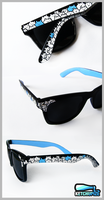 ''In the Crowd'' Wayfarer style sunglasses by Ketchupize