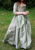 1780 zone-front gown (unfinished)1 by Arumorahe