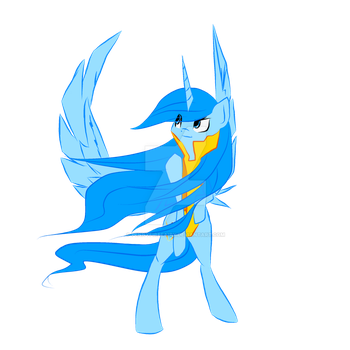 Starling - Wonderbolt by PennyFireFairy