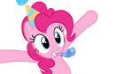 Pinkie Pie - Party Hat Vector by ctucks