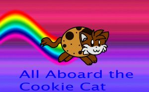 All Aboard the Cookie Cat by spdy4