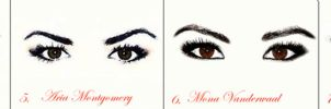 Whose Eyes Are They?-PLL edition (Answers) by nickelbackloverxoxox