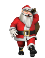 3D Render 21 - Santa 2 by tats2-stock