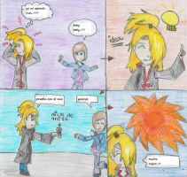 deidara hates justin bieber by Lucale