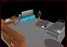 Tony's Office for MMD by Valforwing