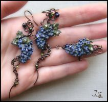 Grapevine set by JSjewelry