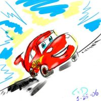 Cars Lightning by Dolltwins