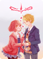 Kyoukai no Kanata - Let's Dance! by sTiViA
