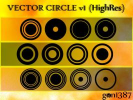 Vector Circle v1 HighRes by gon1387