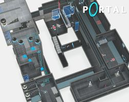Portal Map Design by AtomiccircuS