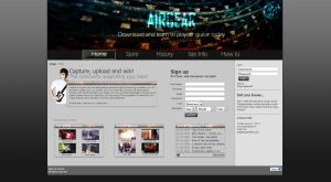 AirGear Webdesign by lokahore