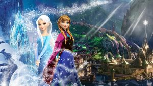 Frozen - 1920x1080 (Elsa and Anna of Arendelle) by CoGraphiC
