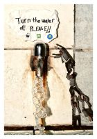 turn the water off please.. by govo