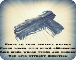 Perfect Weapon by Dark-Sapphire-Lotus