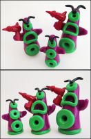 Day of the Tentacle Figures by KTOctopus