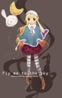 Fly Me to the Sky by anas-bisenty