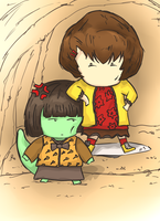 Anak and Androssi by Fidchells