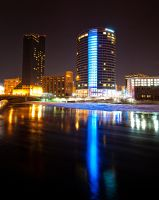 Grand Rapids Ice Floe by copperrein