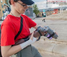 25th Oct MCM LON Team Fortress 2 RED Scout by TPJerematic